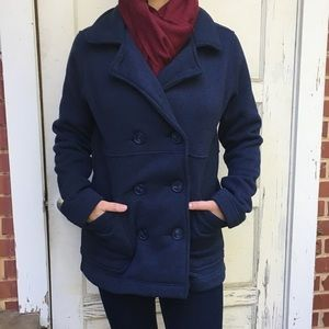 Patagonia Navy Better Sweater Double Peacoat